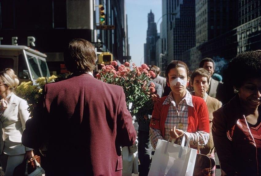 Le photographe de rue new yorkais Joel Meyerowitz photographie les fleurs