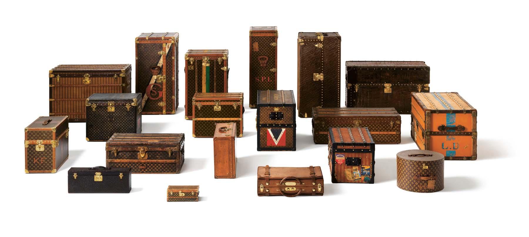 Ensemble de malles Louis Vuitton