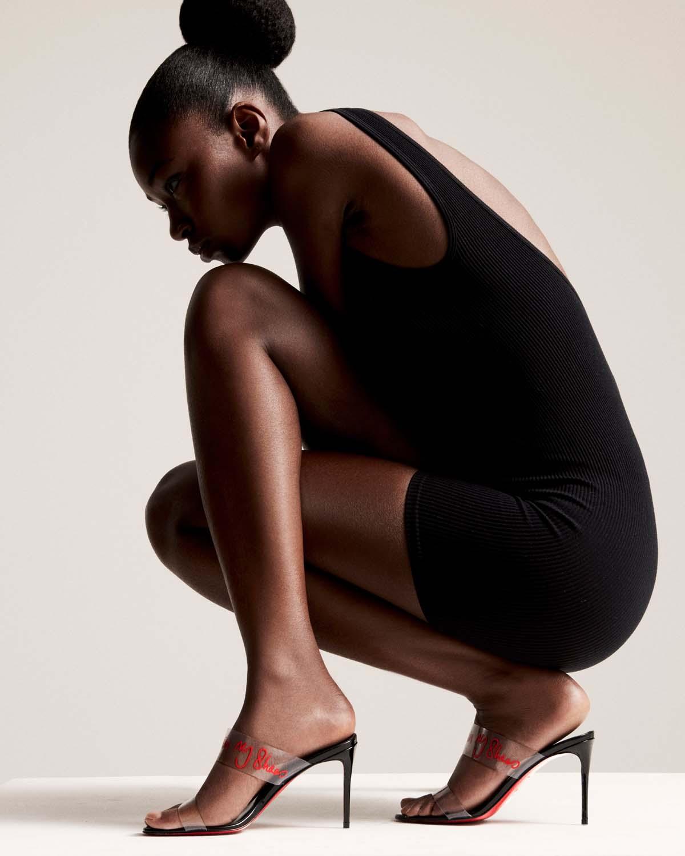 chaussures femme Louboutin x Elba